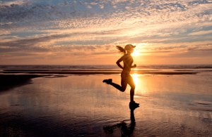 run at the beach image