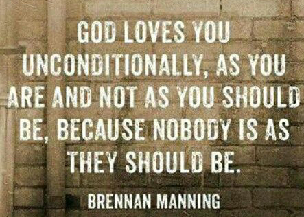 god loves unconditionally