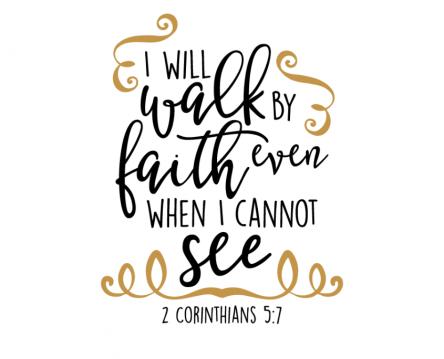 walk by faith 2 corinthians